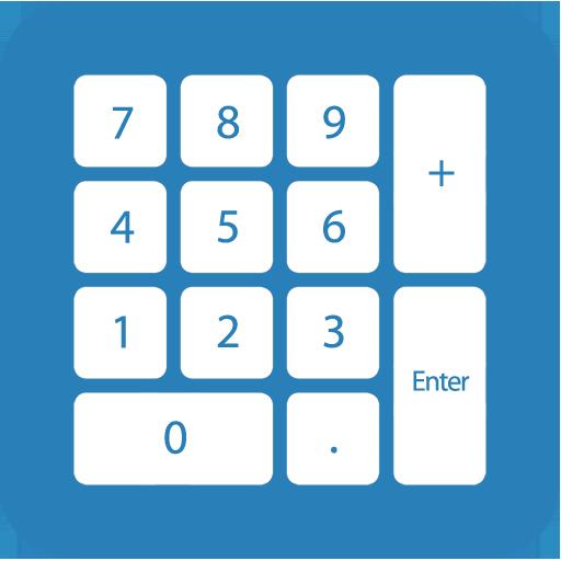 Numeric Keypad Typing Practice (app)