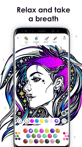 MyColorful – Coloring Book for Adults Screenshot