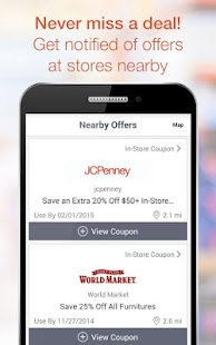 Coupons, Codes, Deals & Saving - screenshot thumbnail