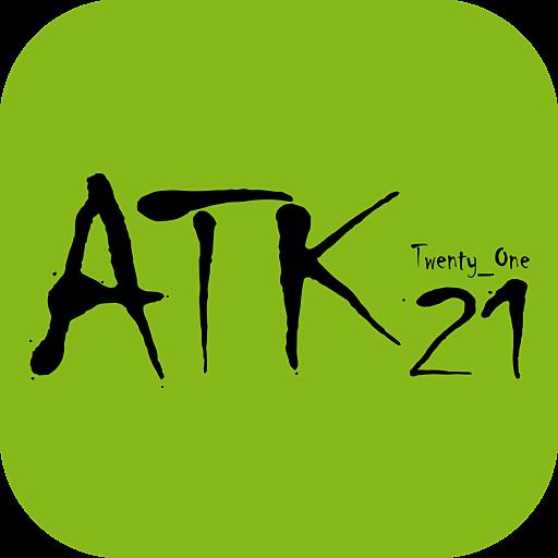 スワロフスキーなどのアクセサリーや雑貨通販 ATK21 購物 App LOGO-APP開箱王