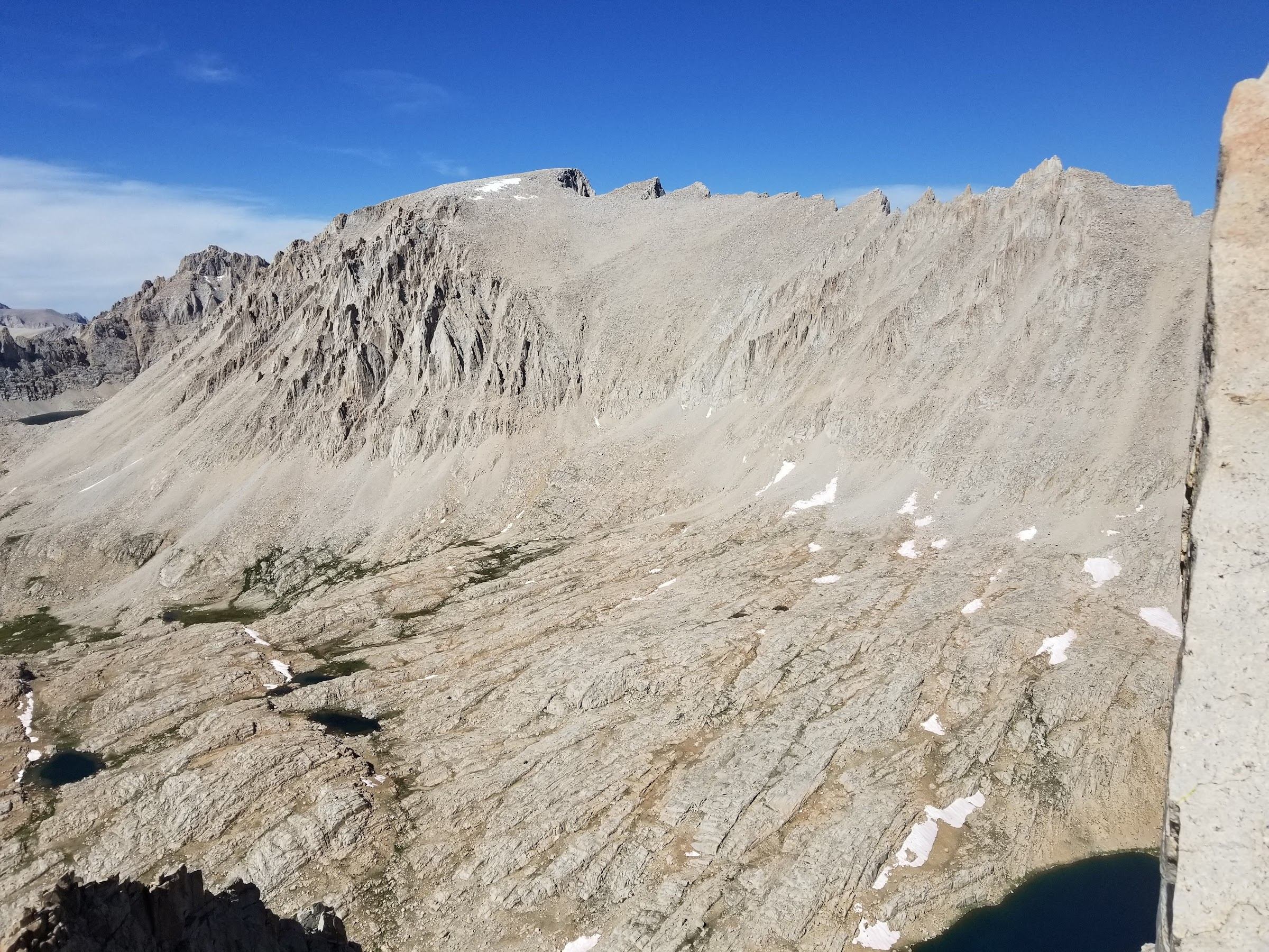 Mount Whitney from the summit of Mount Hitchcock