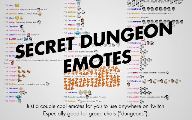 Secret Dungeon Emotes - Cửa hàng Chrome trực tuyến