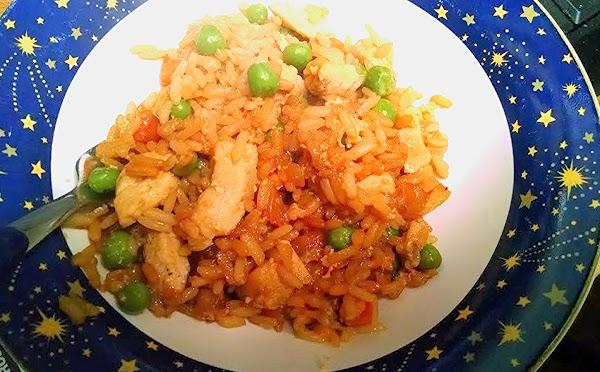 Ellen's Chicken Fried Rice Recipe