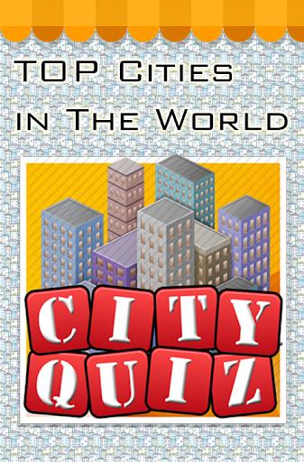市クイズ - 世界で人気の都市