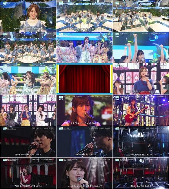 (TV-Music)(720p) AKB48G 乃木坂46 Part – FNSうたの夏まつり 2018 180725