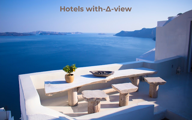 Stunning travel spots with-▲-view on new Tab