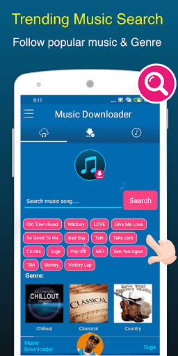Mp3 Music Downloader & Free Music Download 1.0.4 screenshots 1
