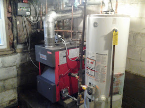 Photo: New Boiler and Water Heater Long Beach, NY after Hurricane Sandy