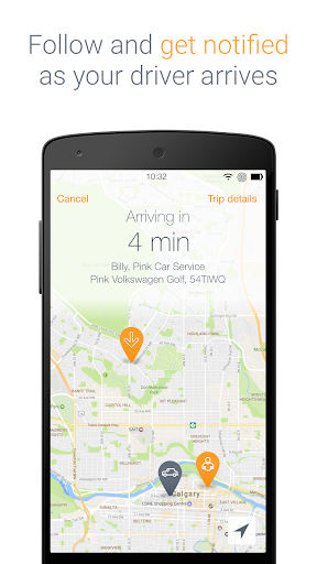 Pink Car Service screenshot 4