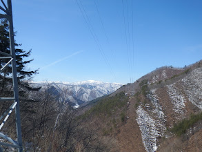 鉄塔からの展望(栗ヶ岳方面)