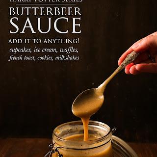 Butterbeer Sauce   Harry Potter