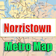 Download Norristown USA Metro Map Offline For PC Windows and Mac