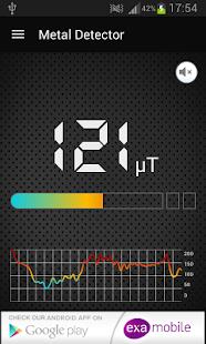 Metalldetektor Screenshot