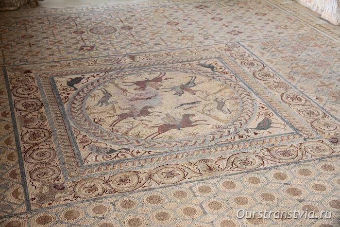 Мозаичные полы в Доме с фонтанами, Конимбрига, Португалия