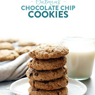 100% Whole Grain Chewy Oatmeal Cookies.