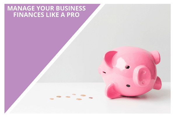 manage your business finances like a pro