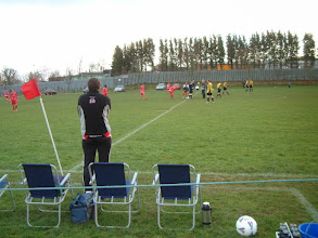 Photo: 01/12/07 v Sarratt (HSCL1) 0-2 - match abandoned after 45 mins (waterlogged pitch) - contributed by Martin Wray