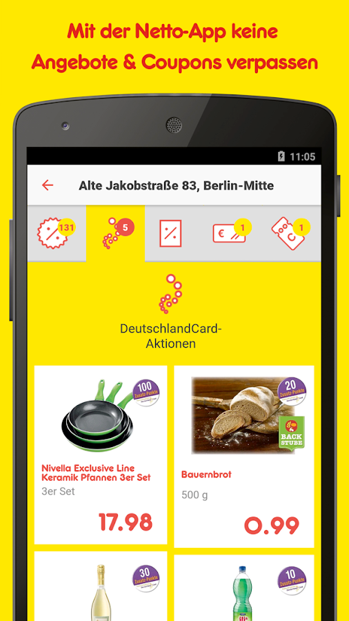 netto app angebote coupons android apps on google play. Black Bedroom Furniture Sets. Home Design Ideas