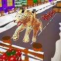 Leopard Survival:Endless Cheetah rush Animal Game icon