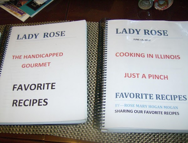This is the 3rd book of my favorite recipes from JAP that I have had bound together in a wire bound plastic coated spiral binding @ Office Depot under $5.00. It keeps your recipes organized, & if you do it by category it is much easier to find when needed