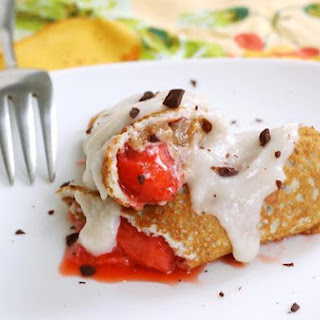 Gluten Free Quinoa and Corn Flour Crepes
