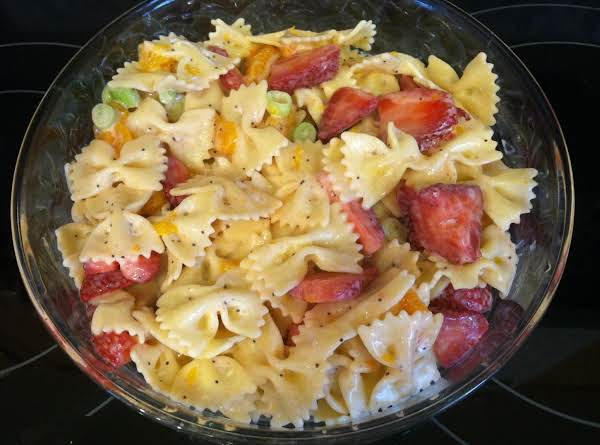 Strawberry-orange Pasta Salad Recipe