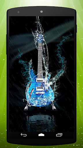 Water Guitar Live Wallpaper
