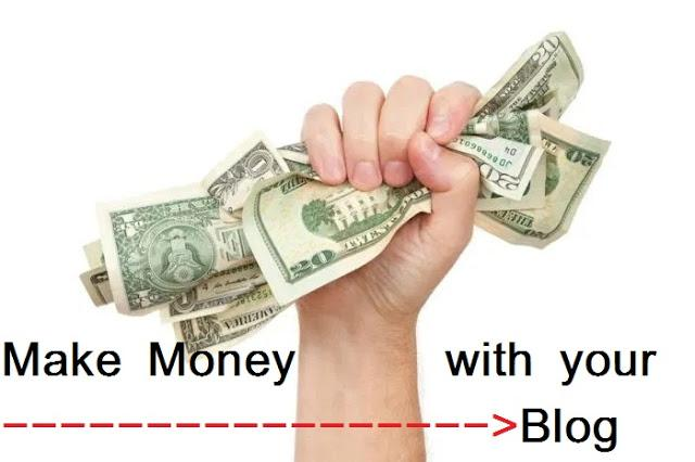 make money with a blog or website