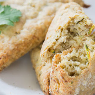 Zucchini Za'atar Vegan Scones.