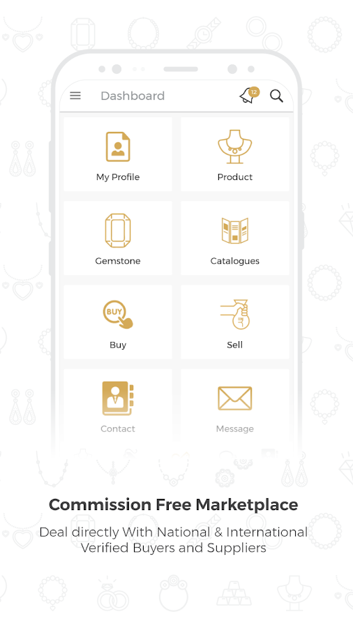 Jewelxy.com - B2B Gems & Jewellery Marketplace App- screenshot