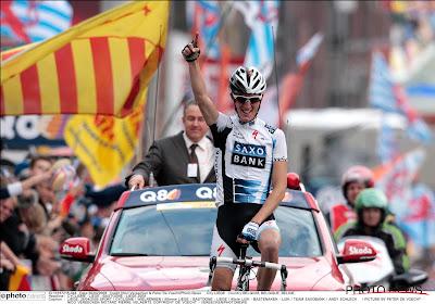 Andy Schleck herinnert zich hoe hij Gilbert overvleugde in Luik-Bastenaken-Luik in '09