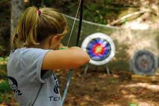 Photo: Archery Range Camp Toccoa