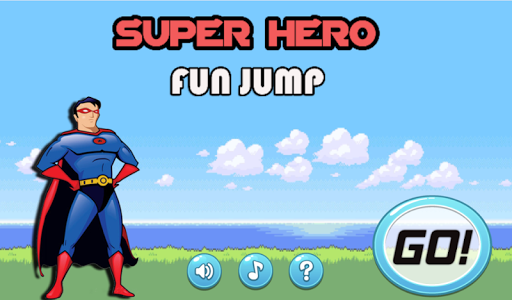 Super Hero Fun Jump