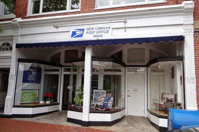 Temporary New Canaan post office