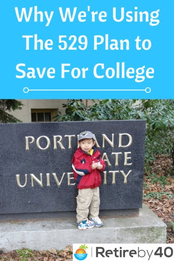 Why We're Using the 529 College Savings Plan to save for college