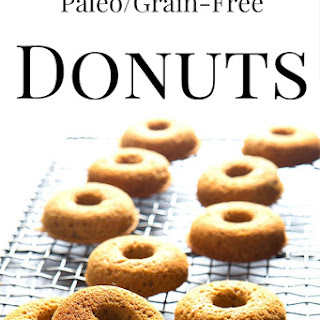 Paleo Doughnuts (Old Fashioned Cake Doughnuts)