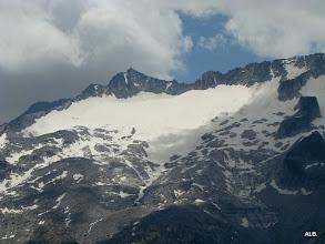 Photo: El glaciar.