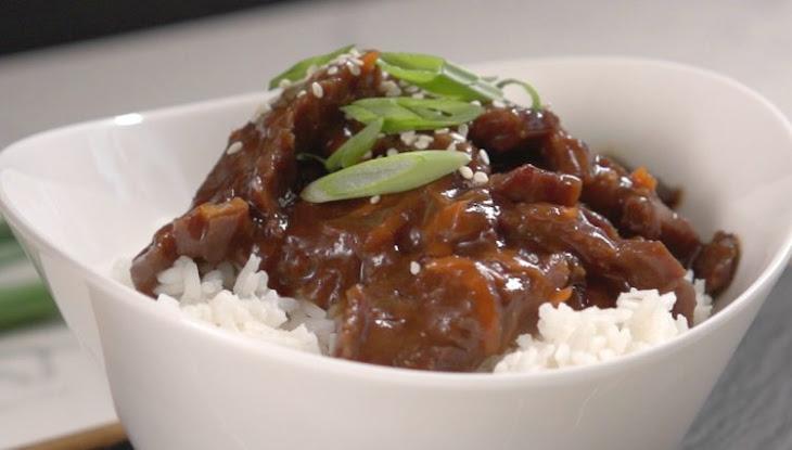 Slow Cooker Mongolian Beef Recipe | Yummly