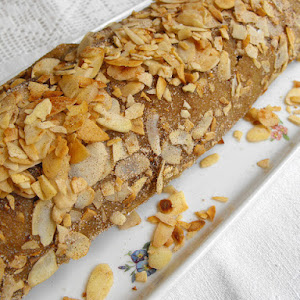 Sweet Potato Pie with Almonds