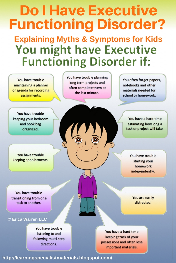free executive functioning image