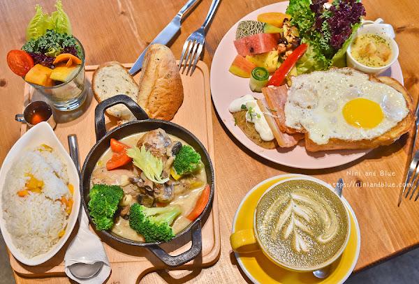 好堅果 咖啡|台中西區早午餐 Heynuts Cafe 精誠商圈巷弄中的老宅餐廳