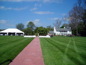 Photo: The wedding site - Swan Harbor Farm: http://www.swanharborfarm.org/