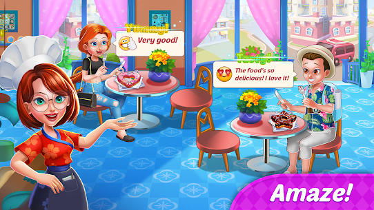 Food Diary: Cooking City MOD (Unlimited Money) 5