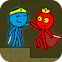 Red and Blue Stickman : Animation Parkour icon