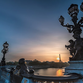 Tour Eiffel from Pont Alexandre III Bridge, Paris by Ketan Vikamsey - Buildings & Architecture Statues & Monuments ( pic of the day, landscape photography, natgeoyourshot, natgeohd, tour eiffel, phodus_competition, paris, igerslandscape, photo of the day, photosergereview, kliksubmit, bbctravels, travelgram, ketan vikamsey, canonusa, photographers of india, lonelyplanet, pont alexandre iii, guide to paris, canonphotography, lc_india, landscape captures, kv kliks, airfrance, natgeotravel, national_geographic, passionnate paris, travel the world pix, bridge, natgeotravelpic, travel awesome, dpeginsta )