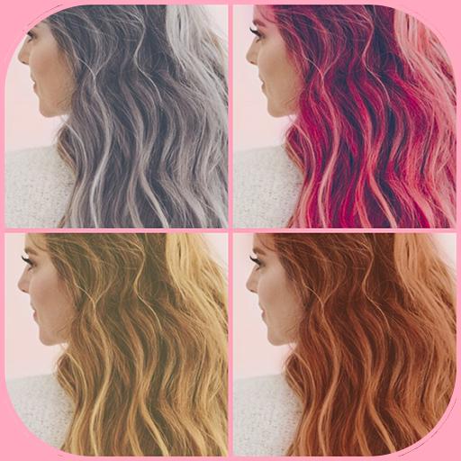 Trocador de cor do cabelo
