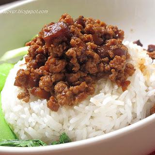 Braised Mushroom Meat Sauce 香菇肉燥.