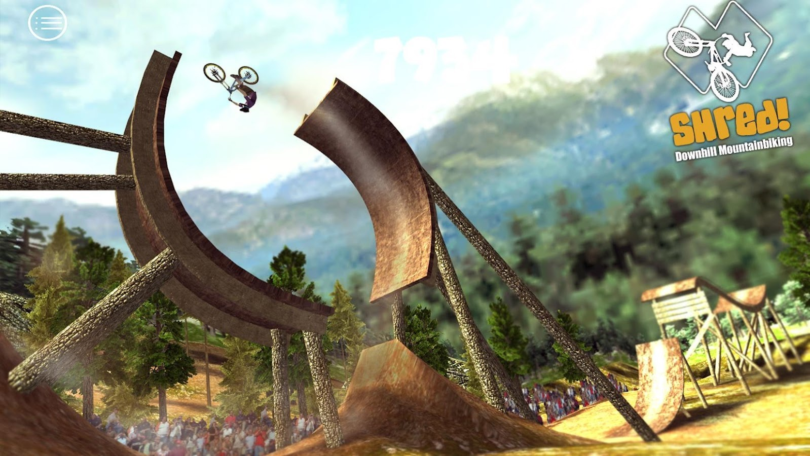 Shred! Downhill Mountainbiking- screenshot