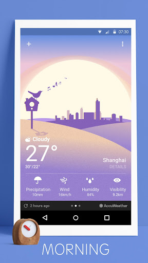 Weather - Simplicity Weather screenshot for Android