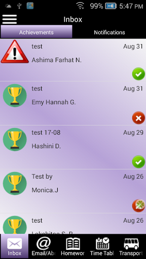 PSC School Principal App
